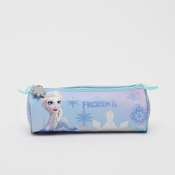 Frozen 2 Print Pencil Case with Zip Closure