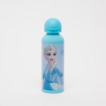 Elsa Print Water Bottle with Cap - 500 ml