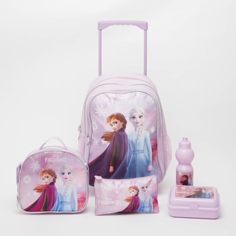 Frozen 2 Print 5-Piece Trolley Backpack Set - 16 Inches