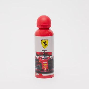 Ferrari Print Water Bottle with Cap - 500 ml