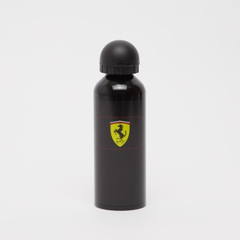 Ferrari Print Water Bottle with Cap - 500 ml