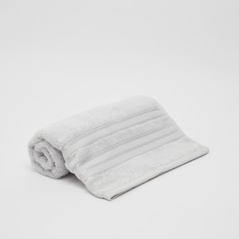 Textured Egyptian Cotton Bath Towel - 140x70 cms