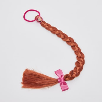 Frozen Elastic Round Hair Tie with Braid Extension