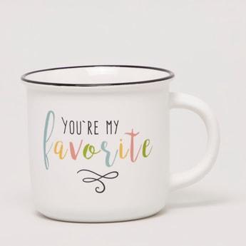 Slogan Printed Mug