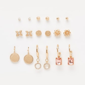 Set of 9 - Assorted Earrings