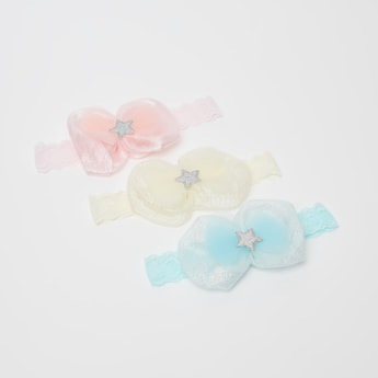 Set of 3 - Bow Detailed Hair Band