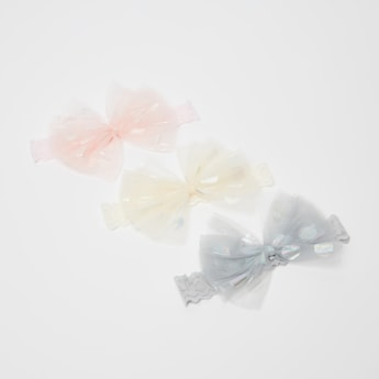 Set of 3 - Bow Shaped Hair Ties
