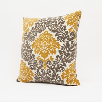 Jacquard Filled Cushion - 43x43 cms