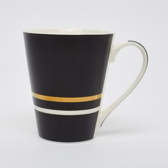 Printed Mug with Curved Handle - 11x6x9 cms