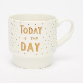 Printed Mug with Curved Handle - 9x7x8 cms