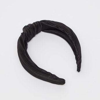 Textured Hair Band with Knot Detail
