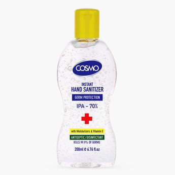 Cosmo Instant Hand Sanitizer Gel - 200 ml