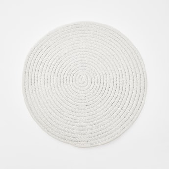 Textured Round Placemat - 38 cms