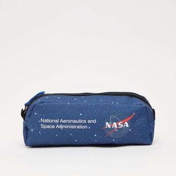 NASA Printed Pencil Case with Zip Closure