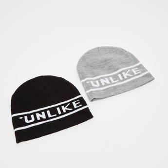 Set of 2 - Beanie Caps