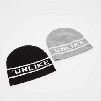 قبعات بيني - طقم من قطعتين