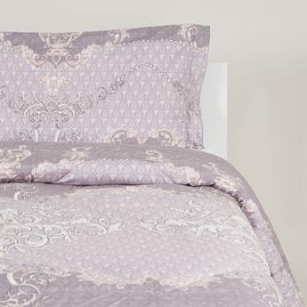 2-Piece Printed Single Size Comforter Set - 220x160 cms