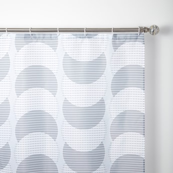 Printed Shower Curtain - 180x180 cms