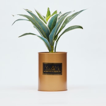 Artificial Plant in Cylindrical Pot
