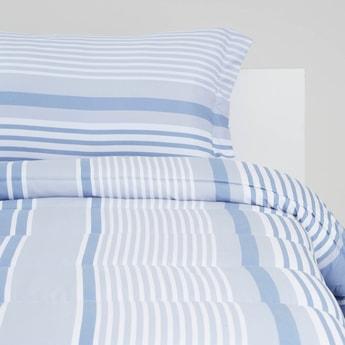 Striped 2-Piece Comforter Set - 220x160 cms