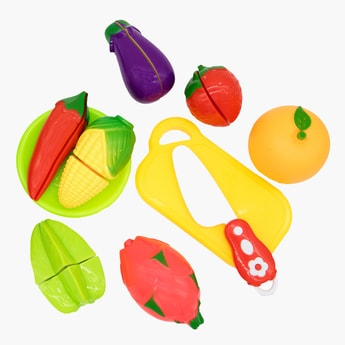 10-Piece Vegetable Cutting Playset