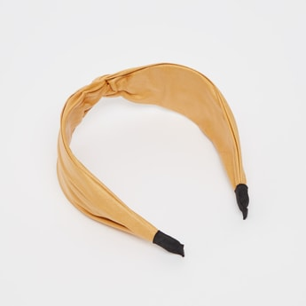 Solid Knot Front Hairband
