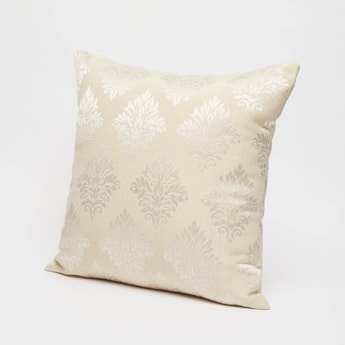 Printed Filled Cushion with Zip Closure - 43x43 cms