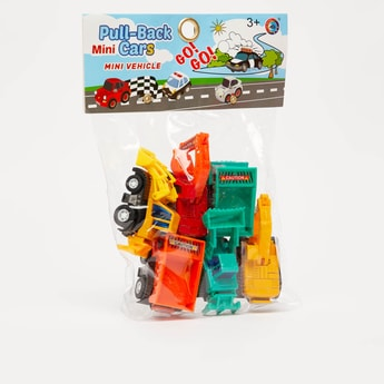 Pull-Back Mini Vehicle Set