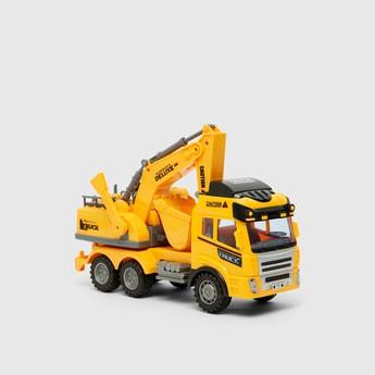 Caution Toy Crane Truck
