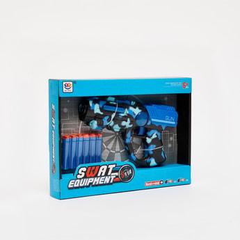Swat Equipment Shooter Toy Gun Playset