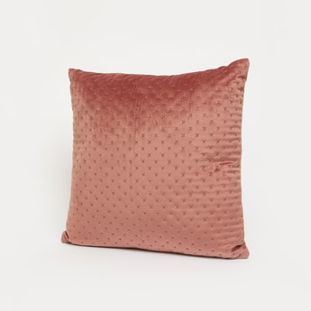 Embossed Filled Cushion - 45x45 cms