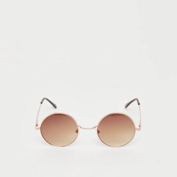 نظارة شمسية مستديرة سادة