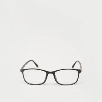 Rectangle Full Rim Protection Glasses