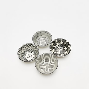 Printed 4-Piece Bowl Set