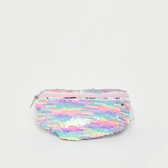 Sequin Embellished Waist Bag