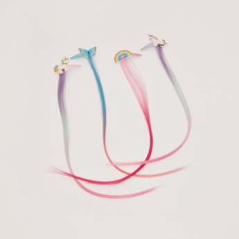 Set of 4 - Hair Clip with Extension