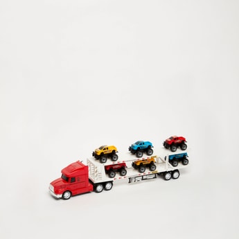 Inertia Friction Toy Car
