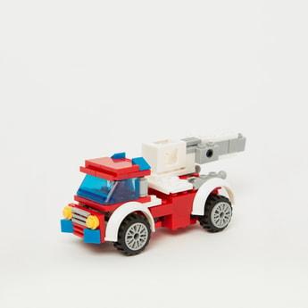 City Lift-Up Fire Engine Block Set