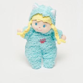Embroidered Girl Rag Doll
