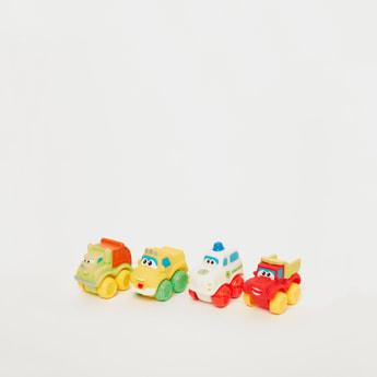 Vinyl Toys Vehicle Toy Set