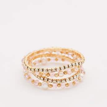 Pack of 4 - Studded Bracelets