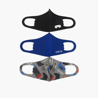 Set of 3 - Printed Anti-Dust Mask