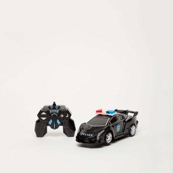 لعبة سيّارة شرطة الروبوت المحارب بجهاز تحكّم عن بعد