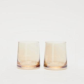 طقم كوب زجاجي - من قطعتين