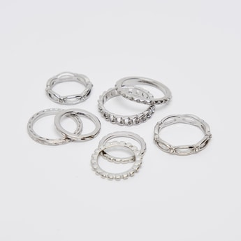 Set of 8 - Assorted Finger Rings