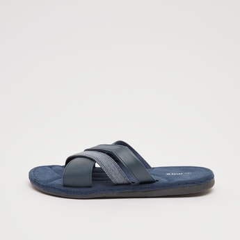 Cross Strap Flip Flops