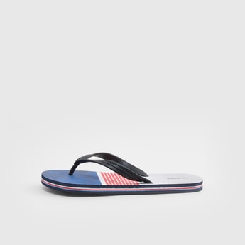 Colourblock Flip Flops