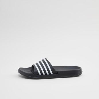 Textured Slides with Stripe Detail