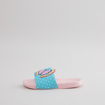 Embossed Butterfly Slides