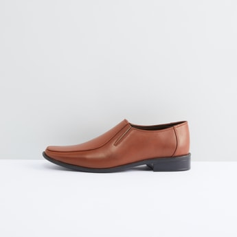 Formal Slip-On Shoes with Elaticised Gussets